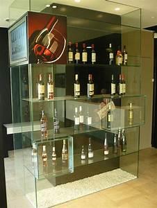 Meuble Pour Verre : meuble en verre securit sur mesure collage par uv ~ Teatrodelosmanantiales.com Idées de Décoration