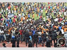 Ivory Coast Cameroon 19112014, riot police step in as