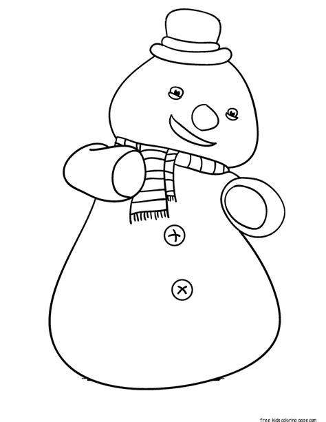printable chilly  snowman  mcstuffins coloring pagesfree printable coloring pages  kids