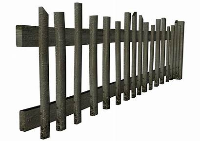 Fence Clip Objects Clipart Transparent Resolution Wood