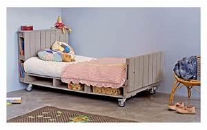 Comment Faire Un Lit En Palette : diy 12 inspirations pour un meuble en palette ~ Nature-et-papiers.com Idées de Décoration