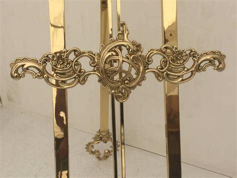 polished brass floor easel  stdibs