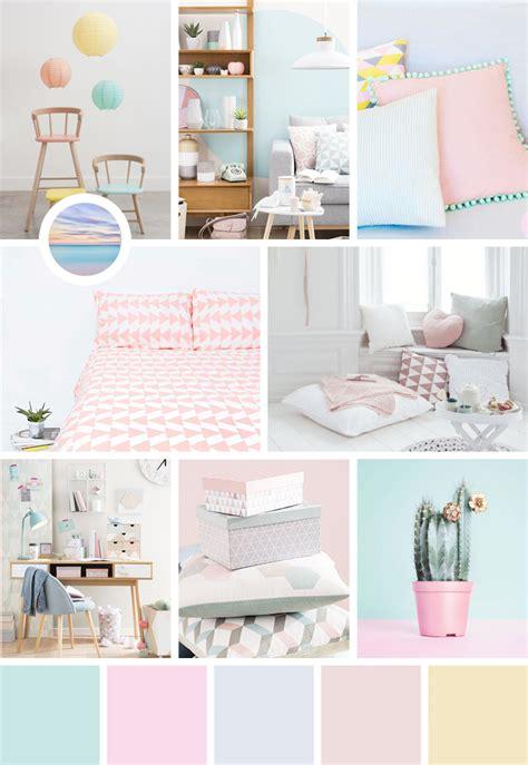 inspiration couleur chambre une dose d 39 inspiration aux couleurs pastel avec moodboard
