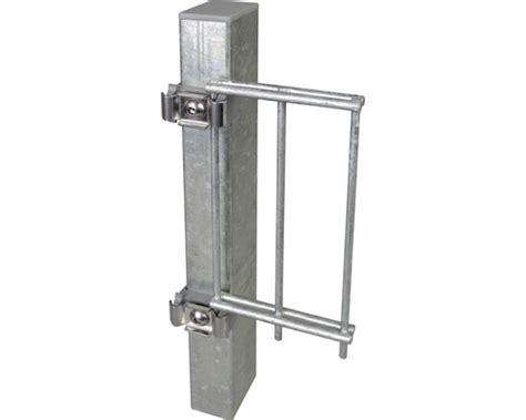 Balkon Nachträglich Vergrößern by Pfosten F 252 R Doppelstabmatte 6 X 4 X 225 Cm Feuerverzinkt