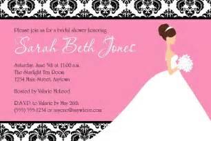 printable wedding shower invitations bridal shower invitations free editable bridal shower invitations
