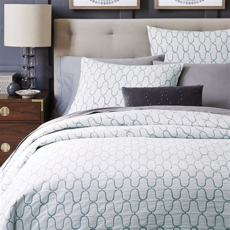 how does a duvet cover work new the looping ogee pattern on the organic bristol