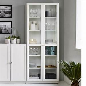 Schrank Regal Weiß : regal anette mit glast ren vitrine glasvitrine in wei schrank wohnzimmer ebay ~ Orissabook.com Haus und Dekorationen