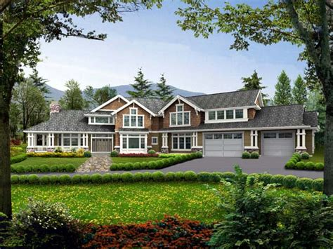 House Plan 87600 Farmhouse Style with 4650 Sq Ft 5 Bed