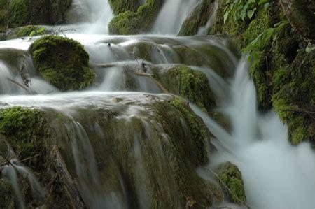 silky smooth waterfalls  streams