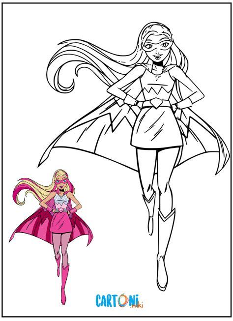 Questo disegno da colorare è stata postata lunedì, maggio 4, 2009. Barbie Super Principessa da colorare - Cartoni animati