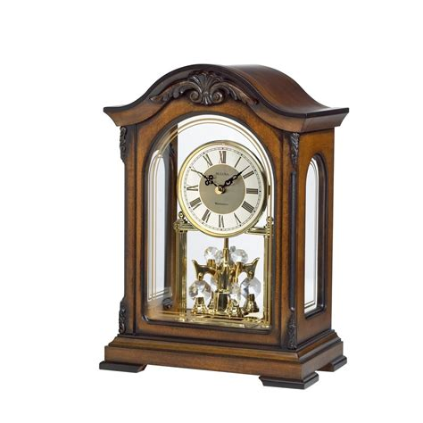Bulova Table Clock Westminster Ave by Bulova Durant Mantel Clock Model B1845 Clockshops