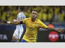 Neymar Brasil Argentina Eliminatorias 2018 10112016 Goalcom