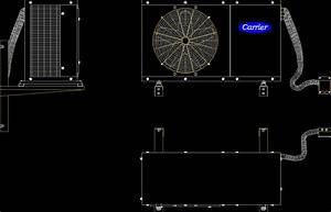 Carrier Cooling Machine DWG Block for AutoCAD • DesignsCAD