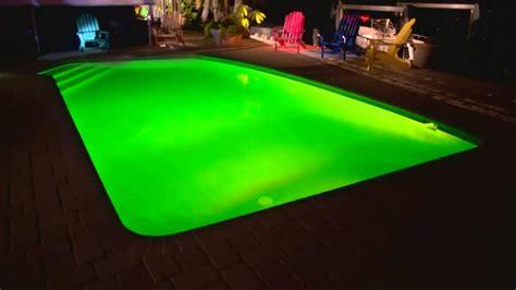 hayward colorlogic led  ground swimming pool kit light