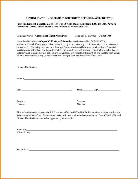 ach authorization form fillable  mbm legal