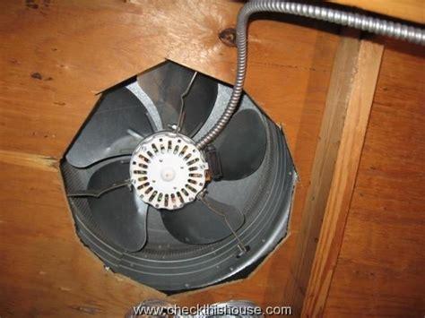 vent exhaust fan to attic attic power vent heat and moisture ventilation solution