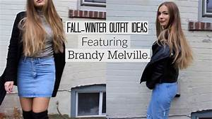 BRANDY MELVILLE FALL-WINTER OUTFITS - YouTube