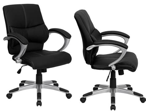 executive mid back swivel chair