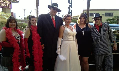 1920s Themed Wedding in Vegas? Gangster Gatsby Even
