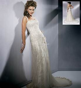 Maggie sottero gatsby size 12 wedding dress oncewedcom for Gatsby wedding dress