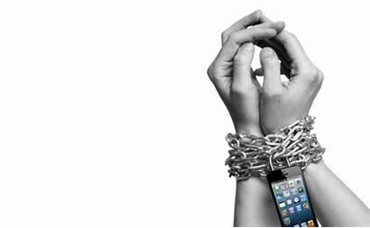 Dipendenza Cellulare Technology Slaves Slavery Smartphone Cellulari