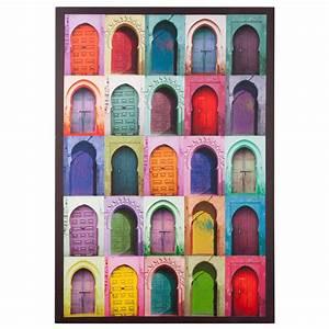 Tableau Porte Orientale : toile marrakech doors pinterest nord ouest secteur et ouest ~ Teatrodelosmanantiales.com Idées de Décoration
