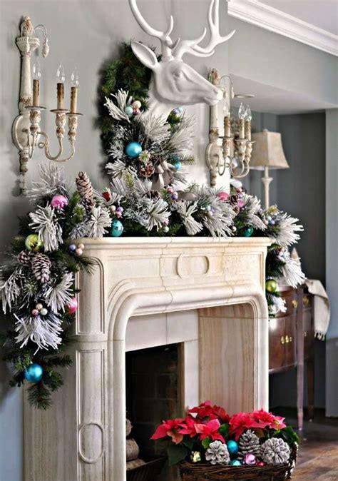deco noel cheminee exquise decoration noel cheminee tolle d 233 co noel chemin 233 e deco