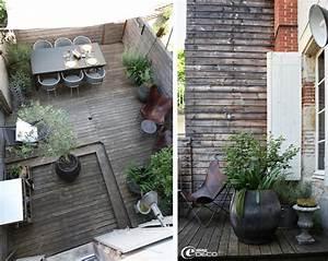 Decoration Terrasse En Bois : d co terrasse maison de ville terrasse en 2019 porch garden patio et outdoor rooms ~ Melissatoandfro.com Idées de Décoration