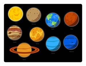 Solar System Clip Art - dothuytinh