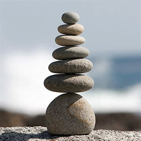 stacked rocks zen natural river stone rock cairn insteading