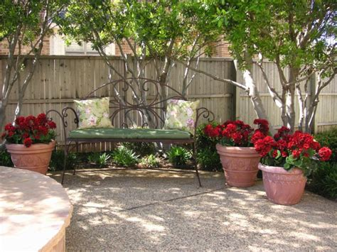 artificial plants for staging outdoor living areas