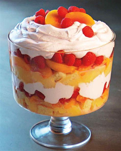 trifle christmas recipes recipe holiday cake desserts fruit food marthastewart dessert lemon martha stewart english dishes egg angel using greatest
