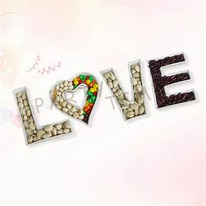 online get cheap ceramic love letter dishes aliexpress With acrylic letter candy dishes
