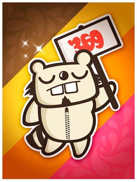 showcase   cute sticker designs designbeep