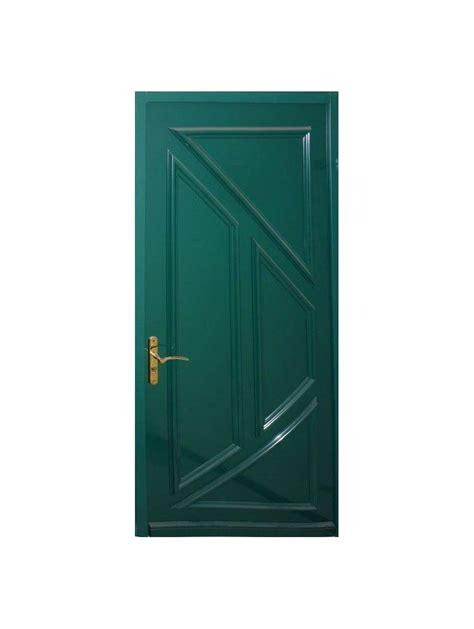 bloc porte d entree metal verte phenix hauteur 215x90 largeur droite