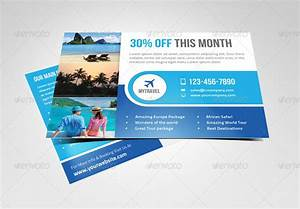 15 dazzling website psd templates for marketing With promotional postcard template