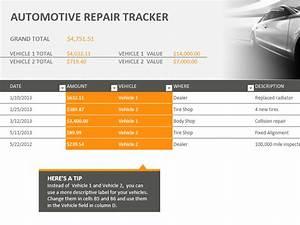 Bid Letter Template Sample Automotive Repair Tracking Template Templates