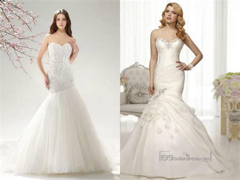 Beaded Sweetheart Mermaid Wedding Dresses