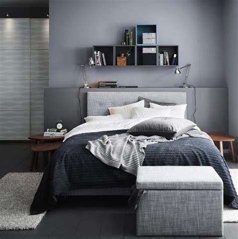 Wandfarbe Schlafzimmer Grau by Die Farbe Grau Im Schlafzimmer Bild 4 Living At Home