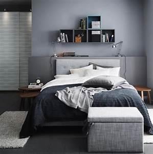 Schlafzimmer Weiß Grau : die farbe grau im schlafzimmer bild 4 living at home ~ Frokenaadalensverden.com Haus und Dekorationen