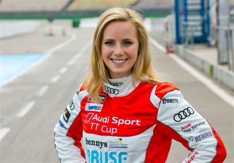mikaela ahlin kottulinsky female race car driver audi