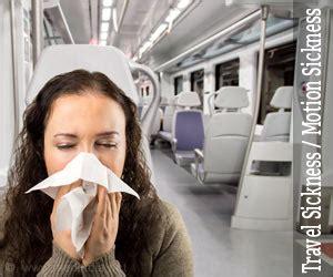 motion sickness travel sickness  symptoms