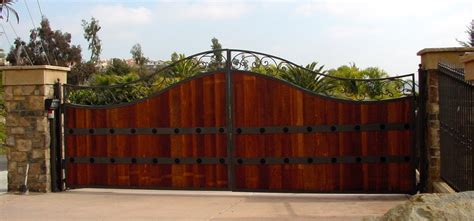 wood and iron gates designs featured gates by rising star industries