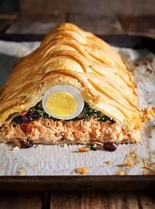 Repas De Noel Poisson : saumon en cro te koulibiac ricardo ~ Melissatoandfro.com Idées de Décoration