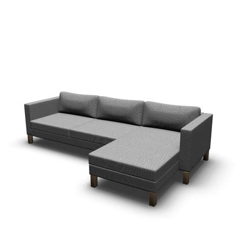 chaises longues ikea karlstad two seat sofa and chaise longue design and