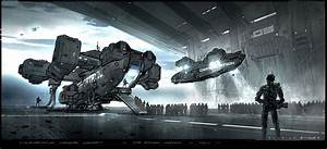 Elysium Concept Art by George Hull | Concept Art World
