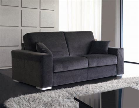 canapé couchage express le canape convertible easy rapido 160 200cm sommier