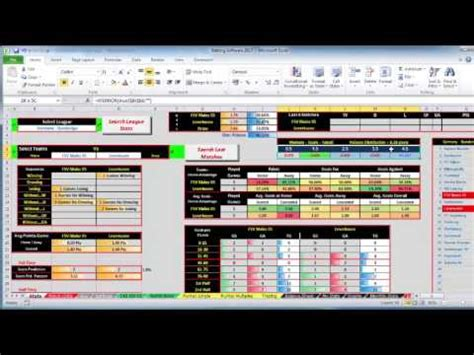 betting prediction software working