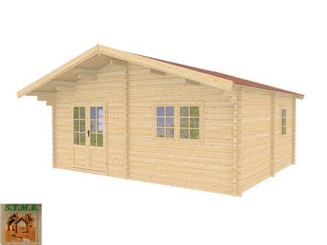 chalet en bois en kit mod 232 le genevier 30 m2 direct usine