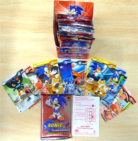 sonic  trading card game sonic news network fandom